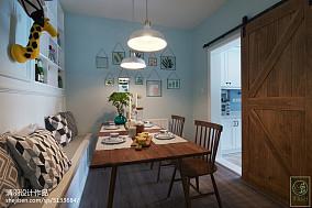 精选大小101平北欧三居餐厅效果图片欣赏