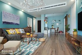 热门104平米三居客厅北欧欣赏图片三居北欧极简家装装修案例效果图