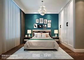 热门四居卧室美式装修图