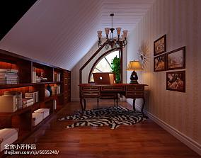精选面积124平别墅中式装修设计效果图
