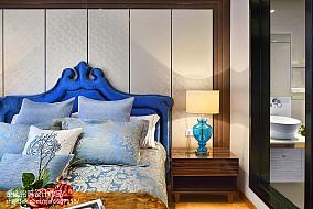 精选90平米二居卧室简欧装修欣赏图