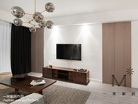 轻奢71平北欧二居客厅图片欣赏二居北欧极简家装装修案例效果图