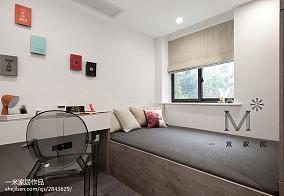 优雅61平北欧二居儿童房装潢图二居北欧极简家装装修案例效果图