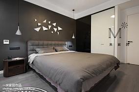 悠雅56平北欧二居装饰美图二居北欧极简家装装修案例效果图