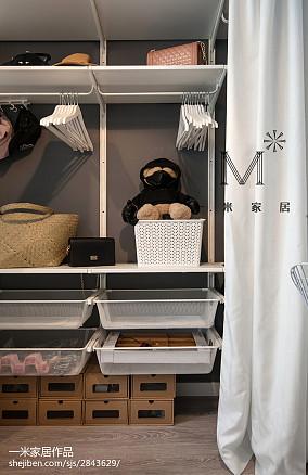 精选北欧小户型衣帽间装修设计效果图片欣赏家装装修案例效果图