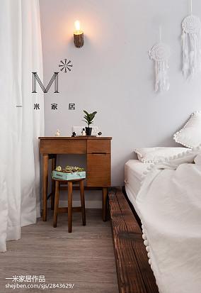 精选北欧小户型卧室装修设计效果图片欣赏一居北欧极简家装装修案例效果图