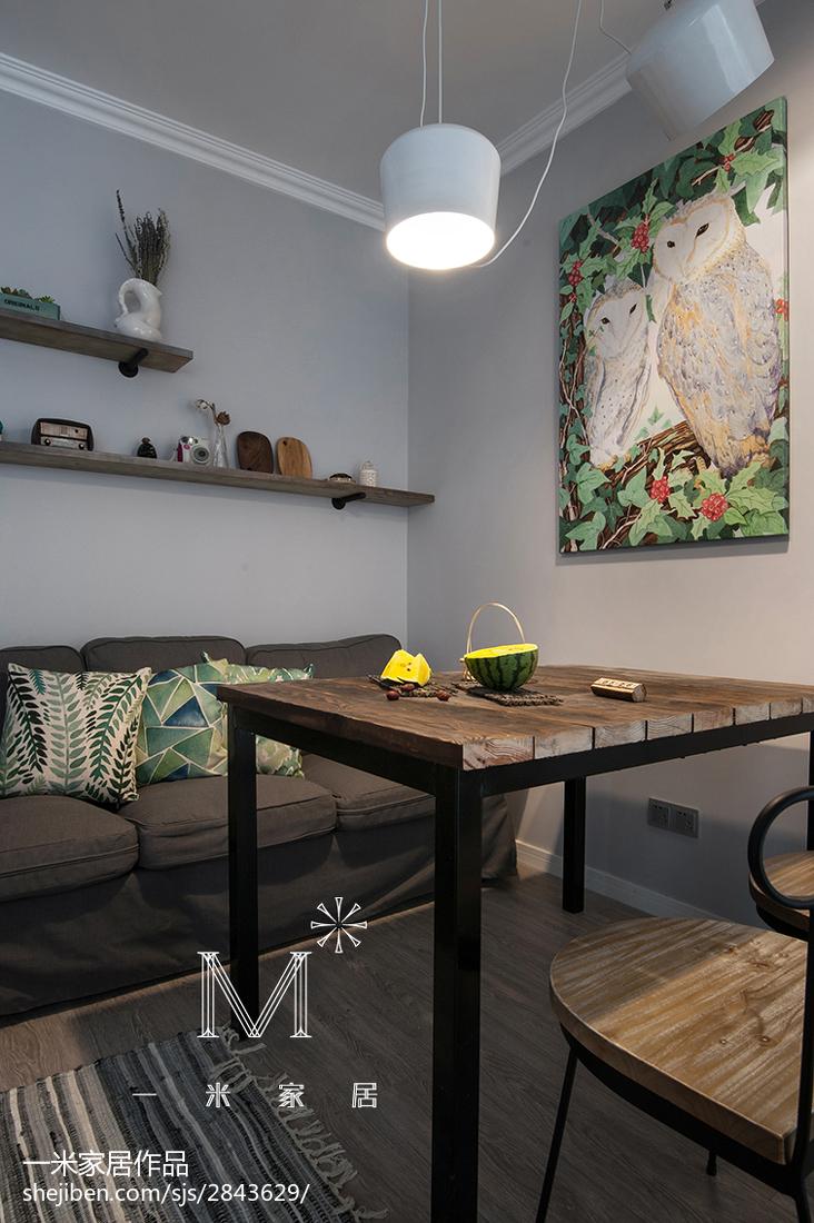 热门89平米北欧小户型客厅装修实景图片欣赏客厅1图北欧极简客厅设计图片赏析