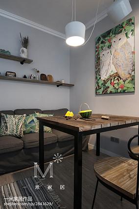 热门89平米北欧小户型客厅装修实景图片欣赏一居北欧极简家装装修案例效果图