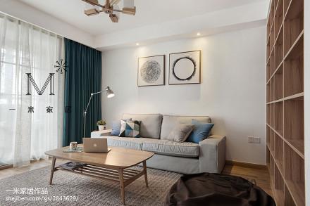 热门面积89平日式二居客厅欣赏图片大全二居日式家装装修案例效果图