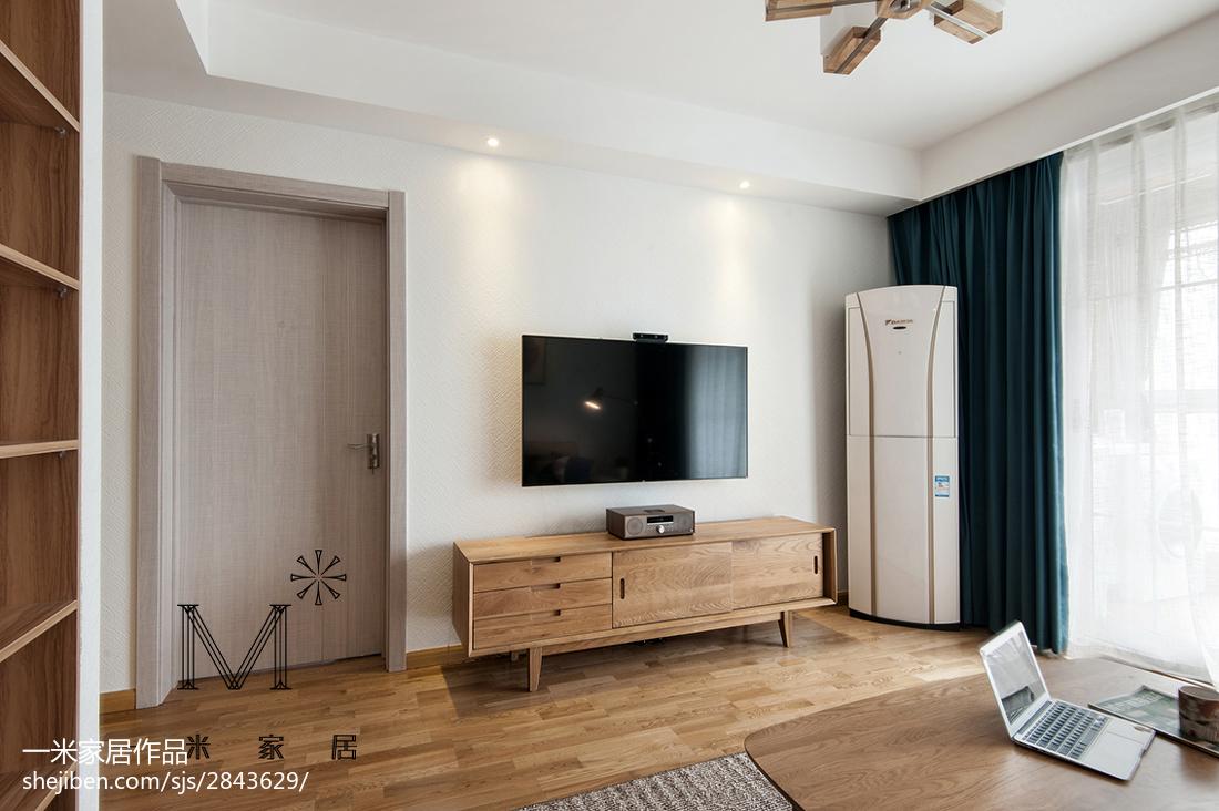 平日式二居装修装饰图客厅日式客厅设计图片赏析