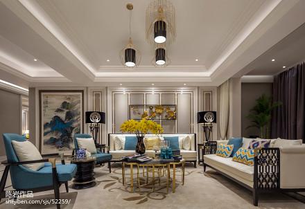 时尚家装欧式客厅设计