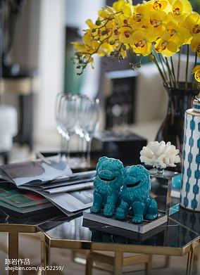 精美欧式客厅装修欣赏图片大全样板间欧式豪华家装装修案例效果图