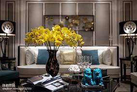 热门客厅欧式装饰图片大全样板间欧式豪华家装装修案例效果图