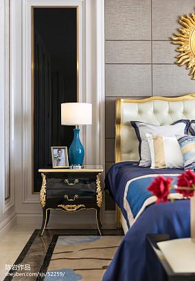 2018精选欧式卧室实景图片欣赏样板间欧式豪华家装装修案例效果图