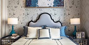 精美卧室欧式效果图片欣赏样板间欧式豪华家装装修案例效果图