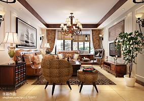 美式风格小别墅效果图
