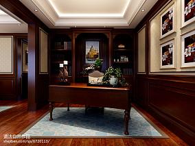 热门面积130平复式美式装修设计效果图片