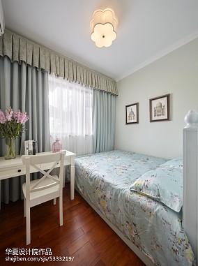 2018面积92平简约三居卧室装修效果图片大全