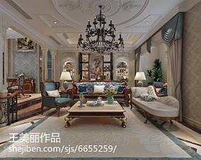 美式别墅装修设计效果图大全