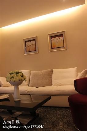 现代客厅装潢