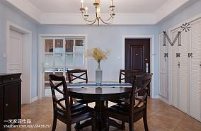 优美85平美式二居餐厅装饰美图