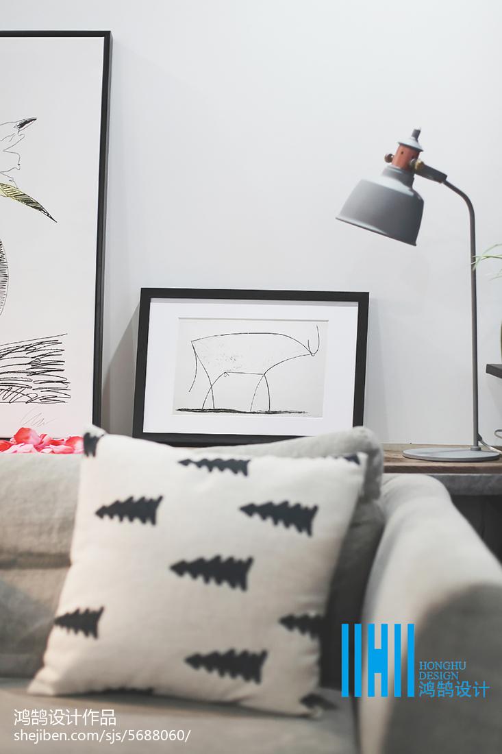 精美北欧二居客厅欣赏图片大全客厅北欧极简客厅设计图片赏析