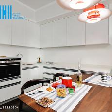精选面积75平北欧二居餐厅装修效果图