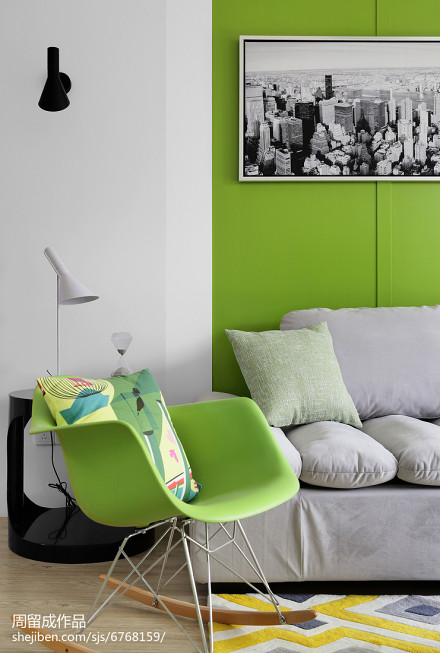 79平方二居客厅现代装修欣赏图片大全客厅1图