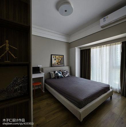 热门144平米简约别墅卧室装修欣赏图片大全