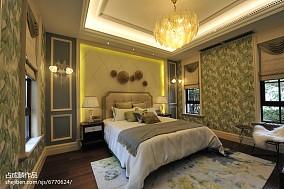 家装风欧式卧室效果图