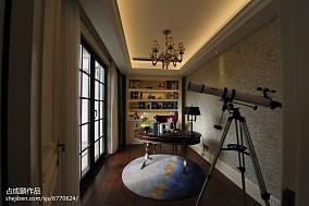 家装风欧式书房效果图