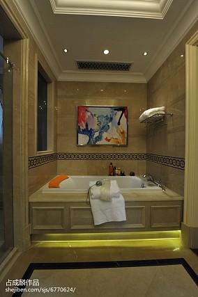热门欧式别墅卫生间装修欣赏图片