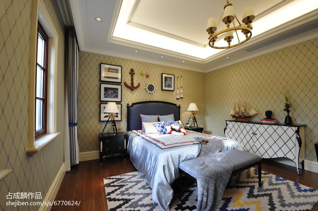 家装欧式格调儿童房效果图客厅床头柜欧式豪华客厅设计图片赏析