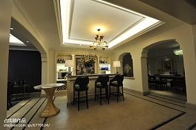 家装欧式风地下室效果图