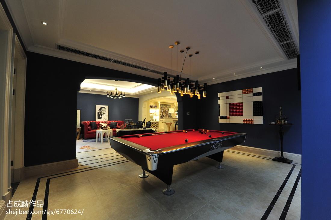 家装欧式格调地下室装修