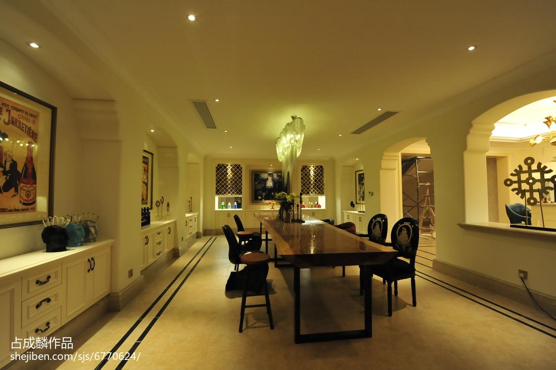 家装欧式典雅地下室设计