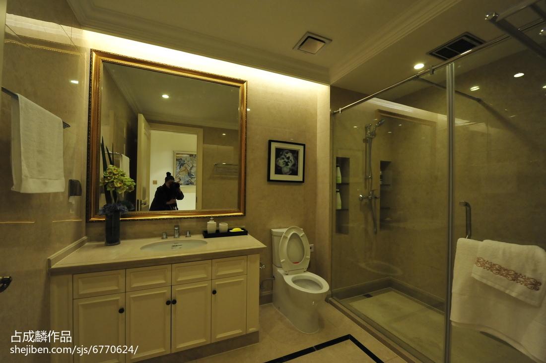 家装欧式风卫浴装修图
