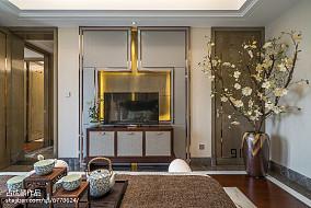 精美中式卧室装饰图样板间中式现代家装装修案例效果图