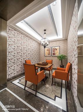 热门中式休闲区装饰图片样板间中式现代家装装修案例效果图
