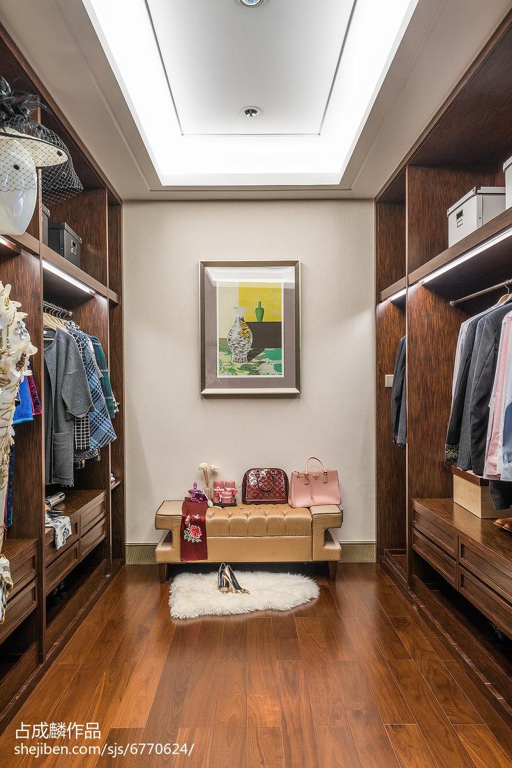悠雅344平中式樣板間圖片欣賞臥室中式現代臥室設計圖片賞析