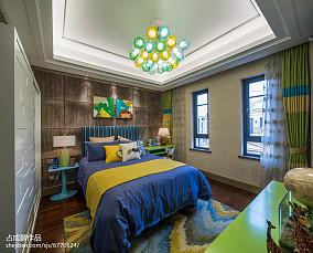 浪漫277平中式样板间装修美图样板间中式现代家装装修案例效果图