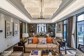 精选中式客厅实景图片欣赏样板间中式现代家装装修案例效果图