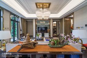 精美中式装修欣赏图样板间中式现代家装装修案例效果图