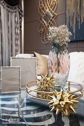 热门面积80平美式二居客厅效果图片欣赏家装装修案例效果图