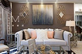 精选二居客厅美式装饰图片欣赏二居美式经典家装装修案例效果图