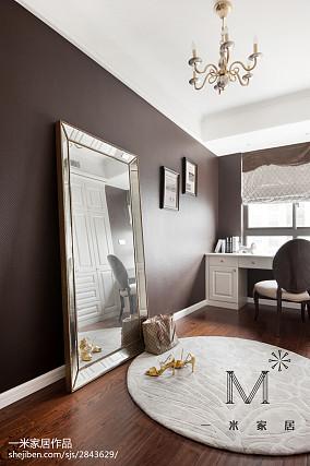 精选面积76平美式二居书房欣赏图片二居美式经典家装装修案例效果图