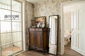 热门美式复式书房效果图片大全复式美式经典家装装修案例效果图