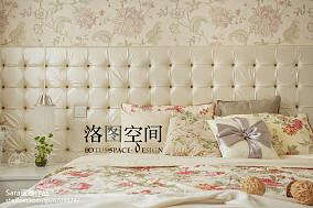 热门复式卧室美式装饰图片欣赏复式美式经典家装装修案例效果图