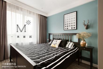 精选面积85平现代二居卧室装修图片大全
