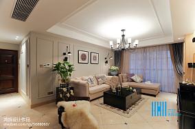 107平米三居客厅混搭装修图片大全三居潮流混搭家装装修案例效果图